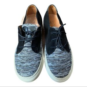 Piola Suede and Fabric Sneakers Size 40 (US 9)